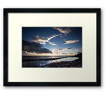 Lennox Rockpool Framed Print