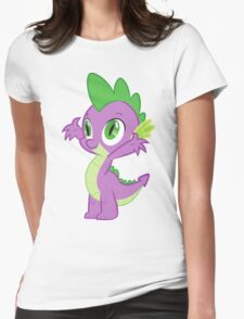 Happy Spike Womens Fitted T-Shirt