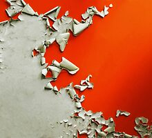 Orange Paper Peel by Richard Davis