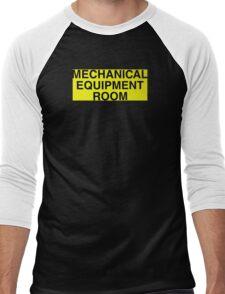 Mechanical Equipment Room Men's Baseball ¾ T-Shirt