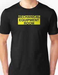 Mechanical Equipment Room Unisex T-Shirt