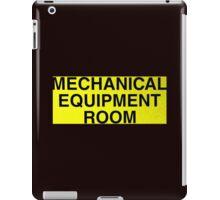 Mechanical Equipment Room iPad Case/Skin