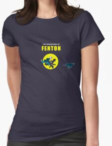 The Adventures of Fenton Womens Fitted T-Shirt