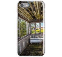 Bath with a view iPhone Case/Skin