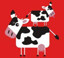 Cute Cows One Piece - Long Sleeve
