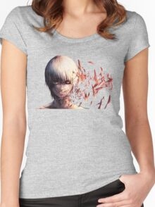 Tokyo Ghoul 15 Women's Fitted Scoop T-Shirt