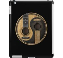 Old and Worn Acoustic Guitars Yin Yang iPad Case/Skin