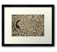 Beer Bottle Framed Print