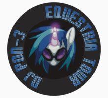 DJ Pon-3 Equestria Tour by Alopex