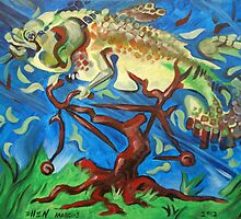 Fish on a Bicycle in a Tree by Ellen Marcus