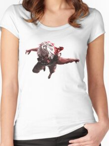 Tokyo Ghoul 18 Women's Fitted Scoop T-Shirt