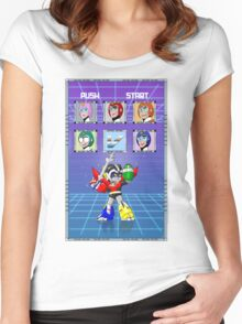 Mega Voltron Women's Fitted Scoop T-Shirt