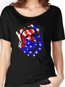 Obama Election 2012 Paints Drop Women's Relaxed Fit T-Shirt