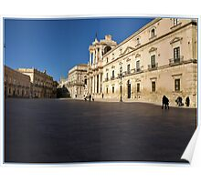 Siracusa, Architecture Poster