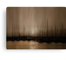 In The Twilight Hour Canvas Print