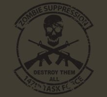 147th Zombie Suppression Task Force by 5a7design