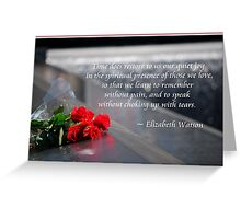 Caring Greeting Card