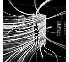Drawlloween 2015: Haunted House Photographic Print