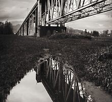 Agassiz Rosedale Bridge North by Jean Poulton