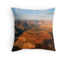 Grand Canyon Colors Throw Pillow