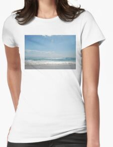 yeagerup beach, western australia Womens Fitted T-Shirt