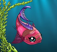 Squareback Anthias by treasured-gift