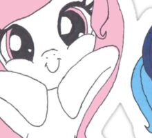 Celestia and luna Sticker