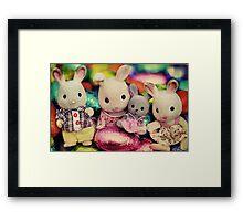 The Easter Bunnies Framed Print