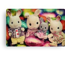The Easter Bunnies Canvas Print