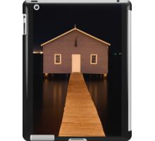 little boatshed on the river iPad Case/Skin