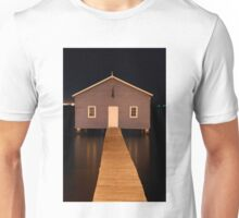 little boatshed on the river Unisex T-Shirt
