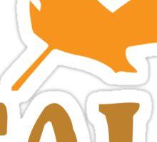 I <3 Fall Sticker