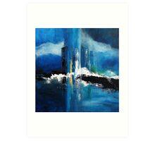Blue Dream Point of View Art Print