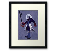 Dark Form Riku Framed Print