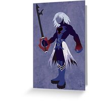 Dark Form Riku Greeting Card