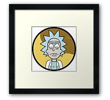 Rick and Morty - Rick Drooling Framed Print