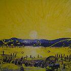 Sunset on Chok-Rak Lake by Alexey Yarygin