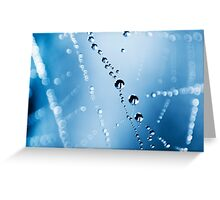 Orbs on a String Greeting Card