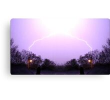 March 19 & 20 2012 Lightning Art 7 Canvas Print