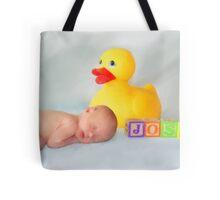 Pastel Baby Portrait Tote Bag