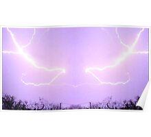 March 19 & 20 2012 Lightning Art 23 Poster