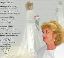 Bridal Portrait with Poem by JordansJewels