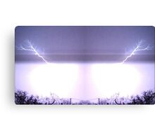 March 19 & 20 2012 Lightning Art 29 Canvas Print