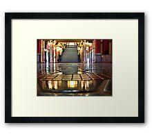 Capitol Lobby (Helena, Montana) Framed Print