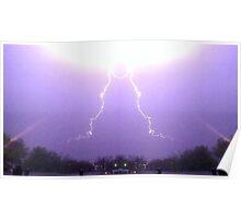 March 19 & 20 2012 Lightning Art 33 Poster