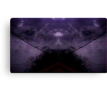 March 19 & 20 2012 Lightning Art 43 Canvas Print