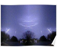 March 19 & 20 2012 Lightning Art 48 Poster