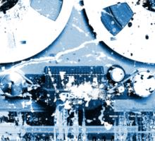 Damaged tape recorder Sticker