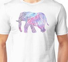 Elephant of lines Unisex T-Shirt