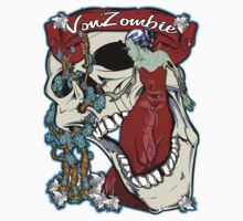Beauty and the Zombie Bride (Sticker) by VON ZOMBIE ™©®